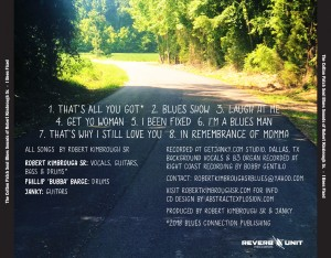 The Cotton Patch Soul Blues Sounds of Robert KImbrough  - Tray O